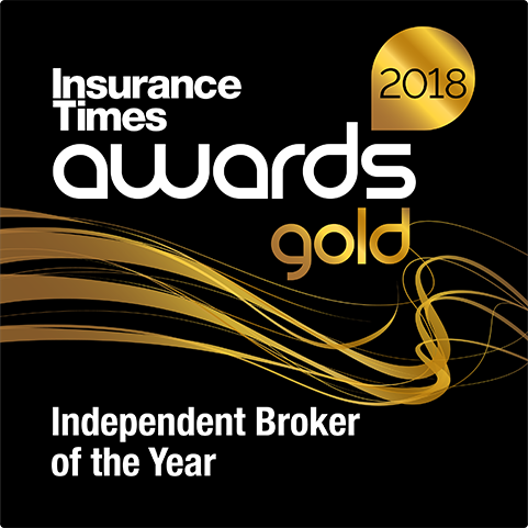 Insurance Times Awards 2018 Gold Independent Broker Award Winner