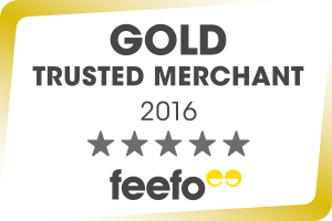 Feefo Gold Rating 2015