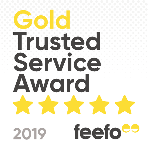 Feefo Gold Rating 2019