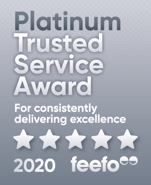 Feefo Platinum Rating 2020